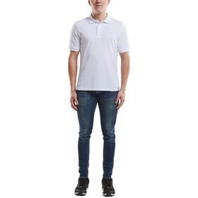 Craft Casual Pique Polo Shirt Men white